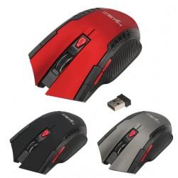 Hyso 2400DPI 6 Knöpfe 2.4Ghz Mini drahtlose optische Gaming Maus