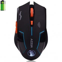 Azzor USB Laser wiederaufladbare Computer Gaming Wireless Maus