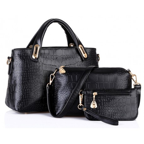 Hobo 3er Set Design, Luxus Frauen Handtasche