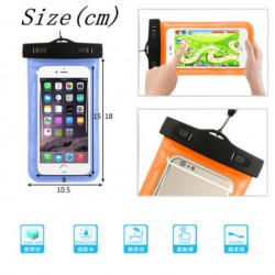 Transparente wasserdichte Unterwasserbeutel für Handy mit Touchscreen