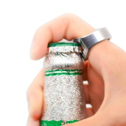 Bierflaschenöffner Ring