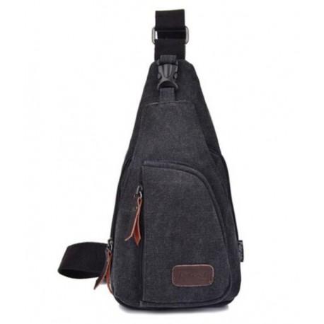 Männer Brusttasche aus Segeltuch Outdoor Multifunktionale Brusttasche