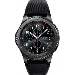 Samsung Gear S3 Frontier, ohne Samsung Pay (46mm, Edelstahl, Silikon)