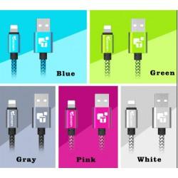 TIEGEM USB Ladekabel für iPhone 5, 5s, 6, 6s, 7, 8, X, iPad, SE,  iPad Air, iPad Pro und Mini Schnelle Lade- und Datenkabel