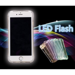 iPhone 7 Transparent Hülle LED Blinklicht