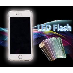 iPhone 7 Transparent Hülle LED Blinklicht